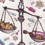 Ilustración sobre los vinos caros que pesan más que el oro