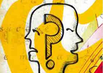 Ilustración sobre la personalidad o conducta bipolar