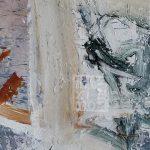 Cuadro de pintura abstracta de Máximo Ribas. Pintado en 1995