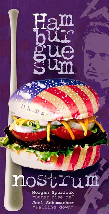 Ilustración para la sección «comer de cine» en la revista Sobremesa